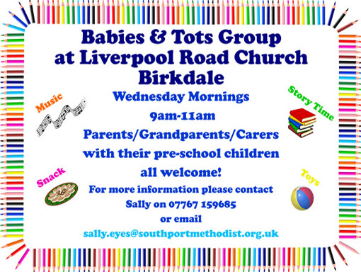 Birkdale Mother and Toddler group.